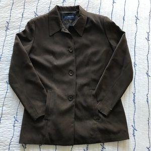 LIZ CLAIBORNE Brown Blazer. Gently used size S/M.